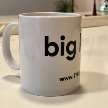 THISAGIO Tazza mug - big kiss