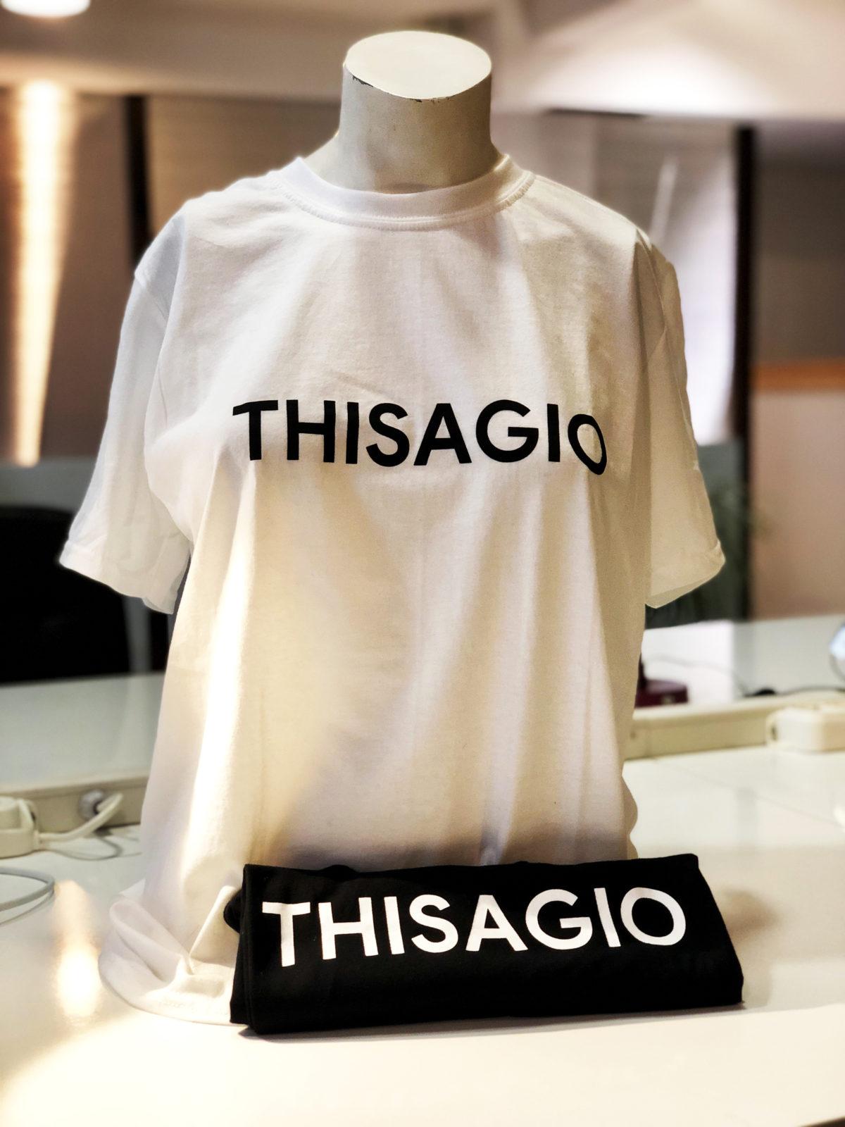 THISAGIO - T-Shirt - White