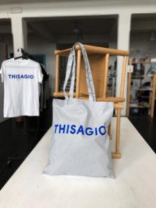 Thisagio - bag grigia