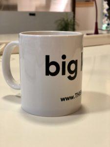 THISAGIO Tazza mug - big kiss