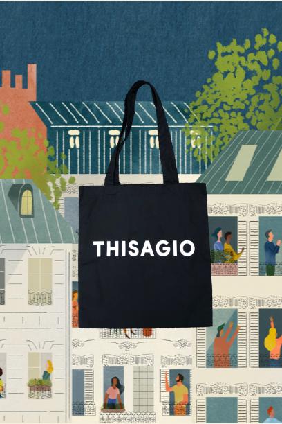 Thisagio Bag Black