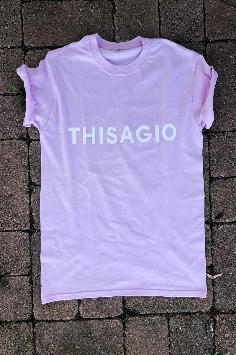 Thisagio Maglia Sweet Pink