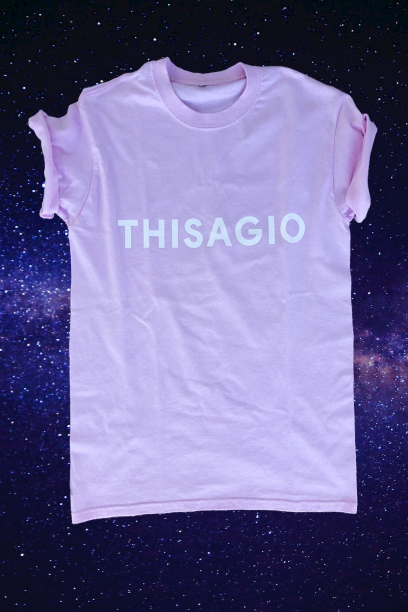 Thisagio Maglia Sweet Pink